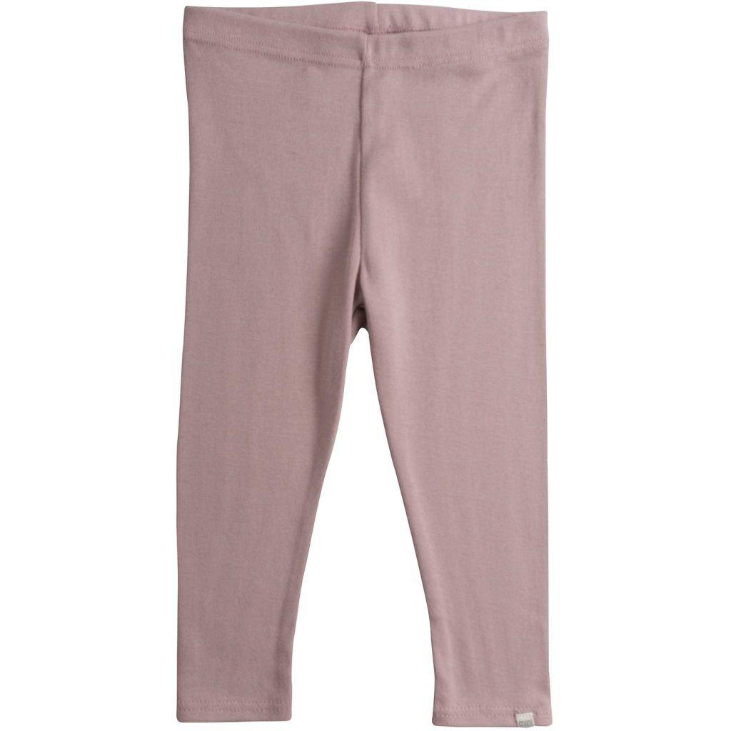 Leggings - Dusty Rose-Minimalisma-BoNordic