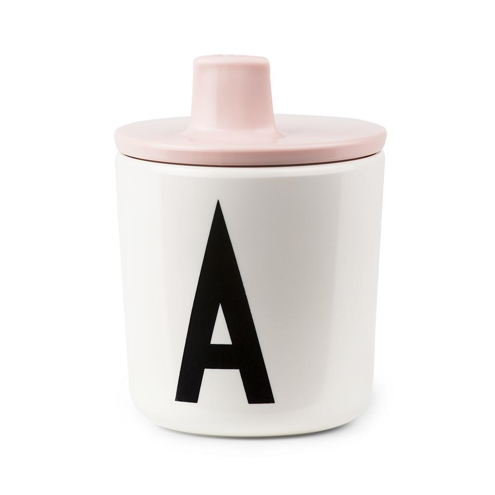 Toddler Melamine Drinking Cup with Detachable Lid_Alphabet Cup A-Z by Design Letters
