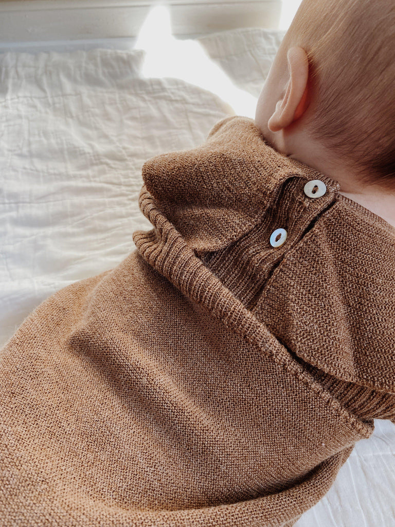 Merino Wool Collar Body - Almond-Konges Sloejd-BoNordic