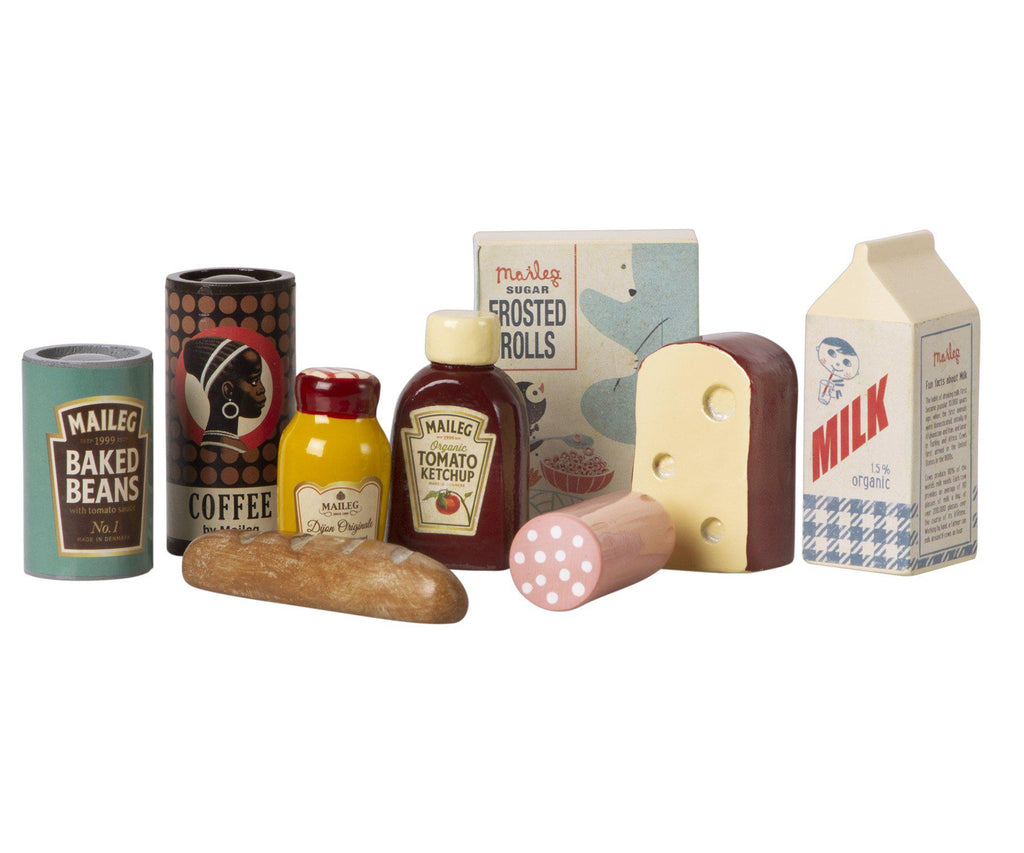 Vintage Food Grocery Box-Maileg-BoNordic