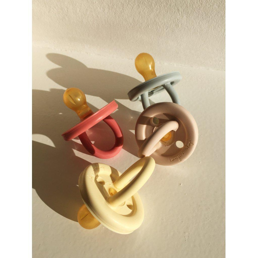 Konges sloejd Baby Pacifier in Natural Rubber
