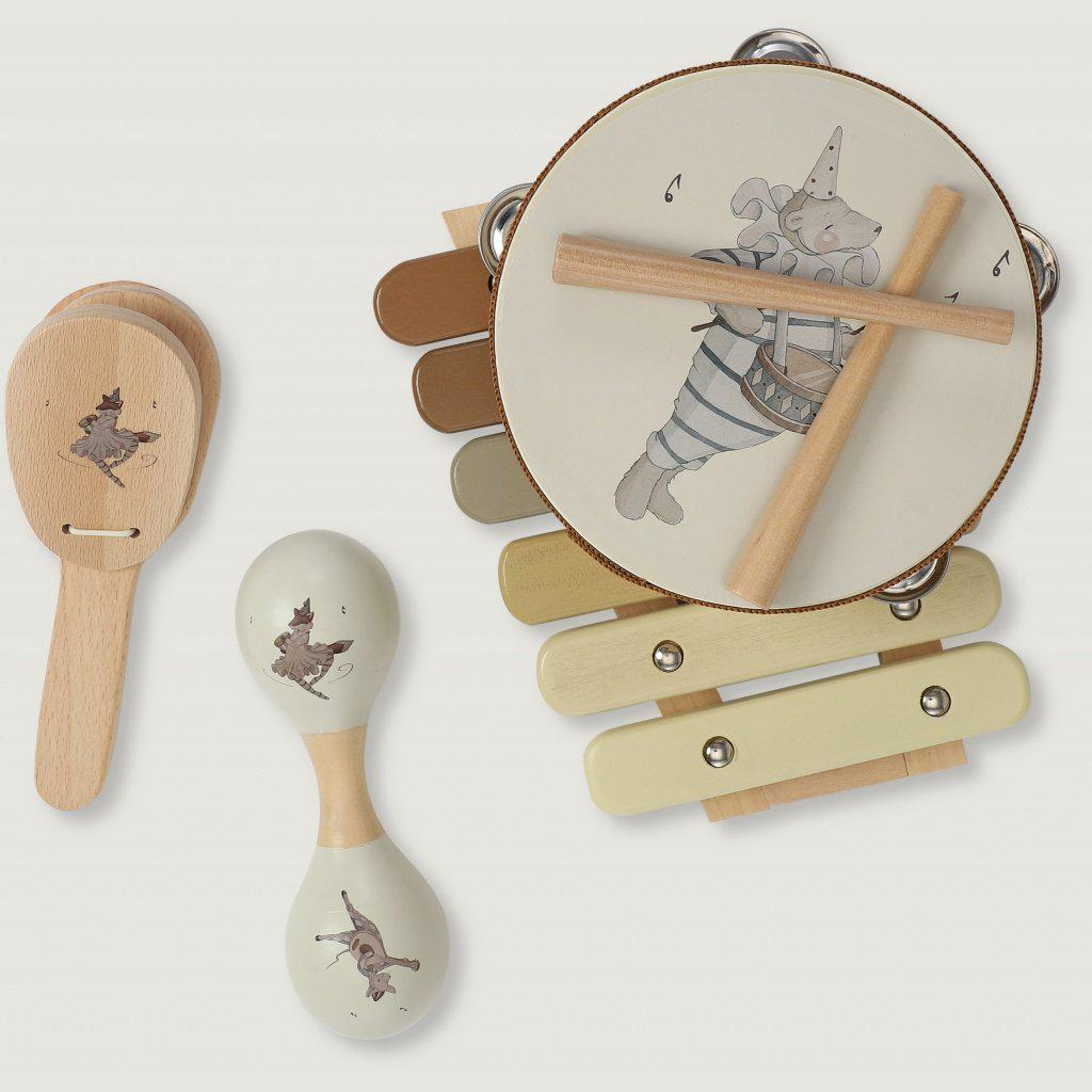 Children's Musical Instrument Play Set Konges Sloejd