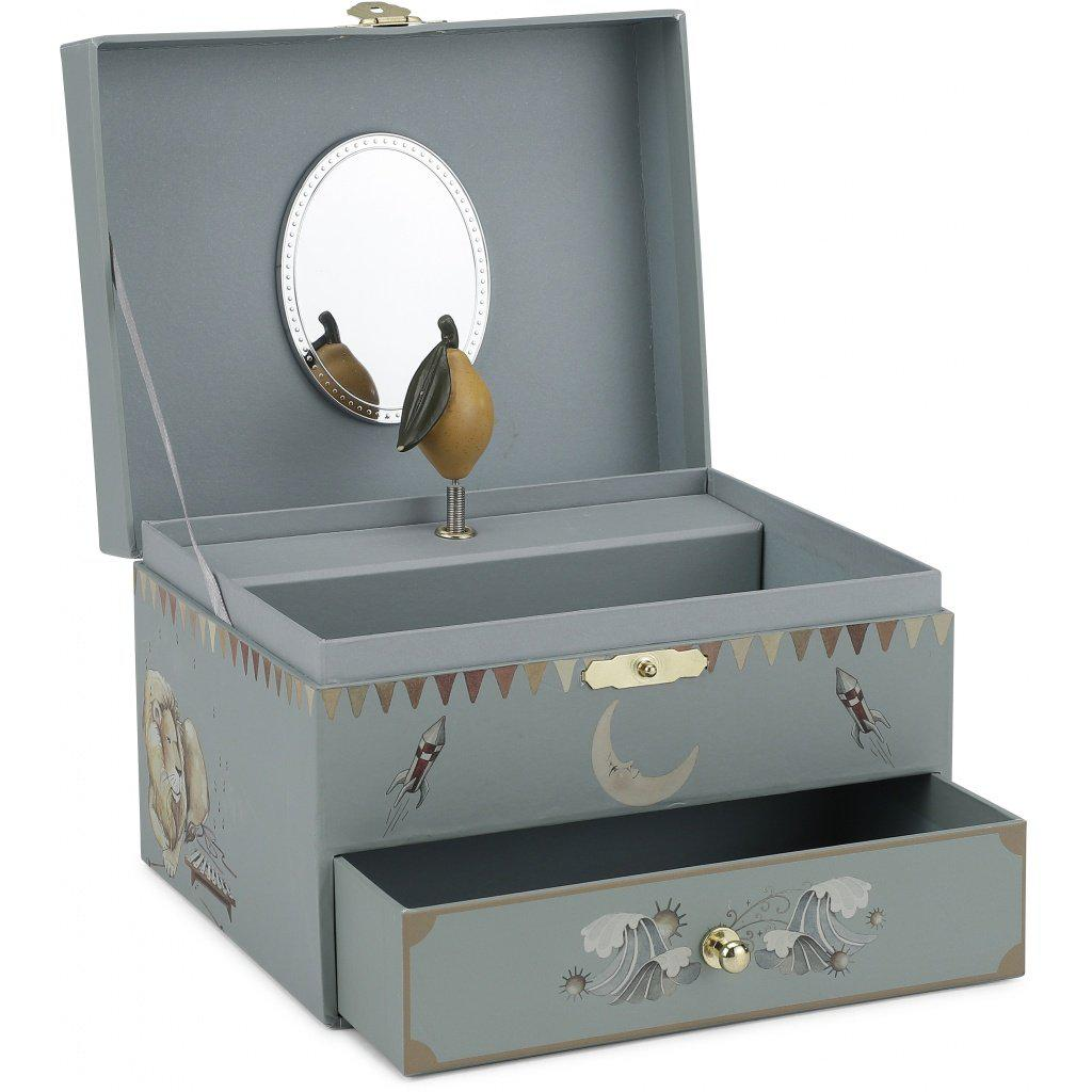 Musical Jewellery Storage Box Konges Sloejd