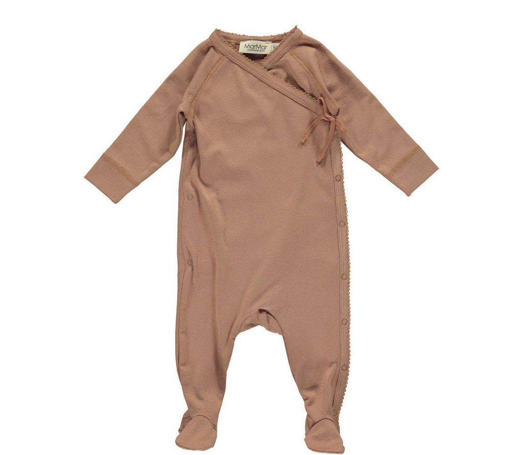 New Baby All-In-One Playsuit in Rose Blush