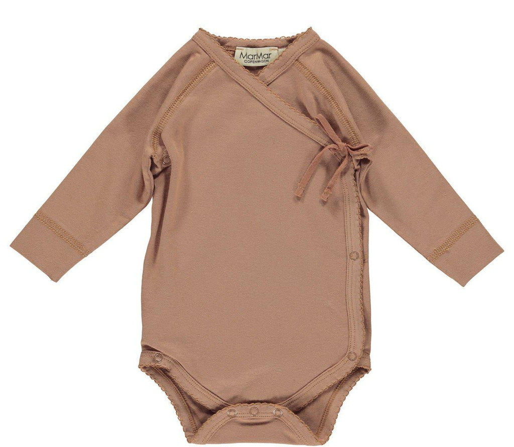 New Baby Cross-Over Body in Rose Blush-MarMar Cph-BoNordic