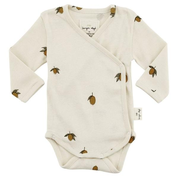 Konges Sloejd Newborn Baby Body Lemon