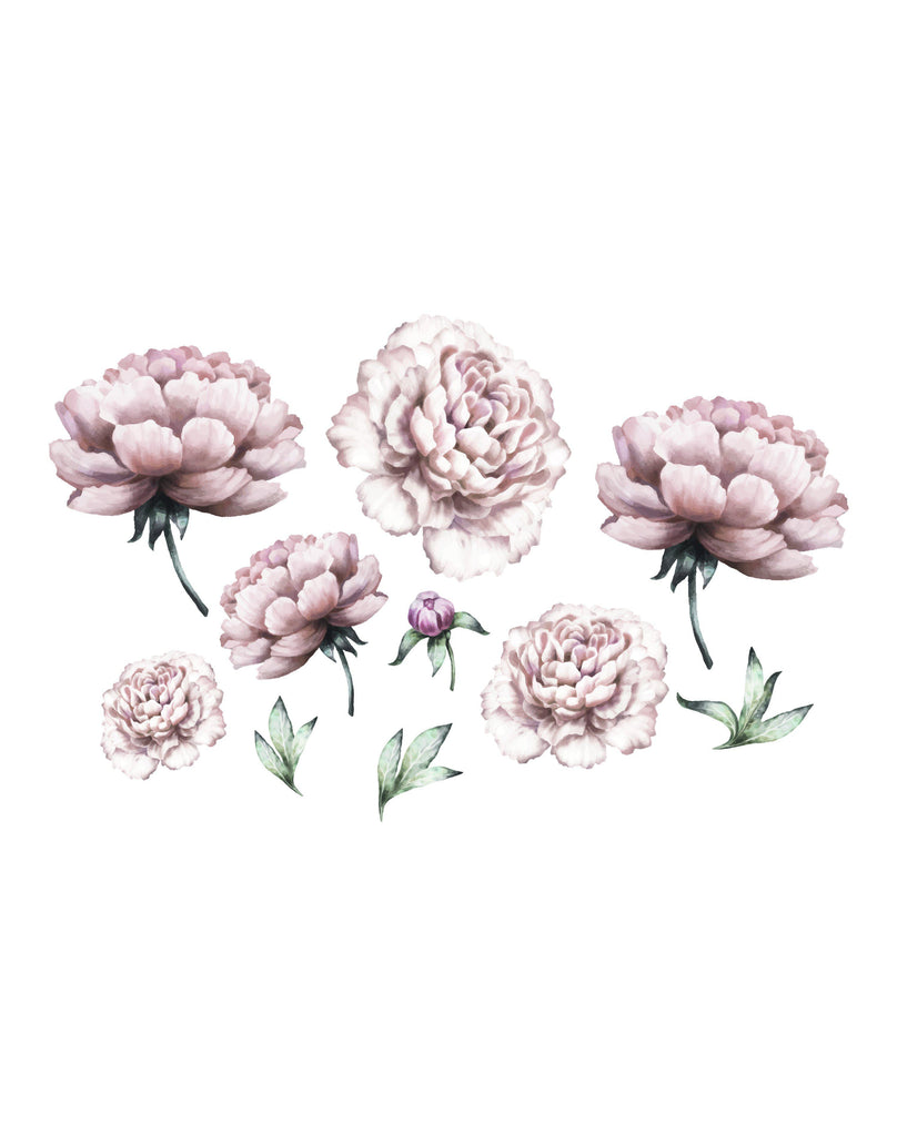 Peony Flower Wall-Sticker-That's Mine-BoNordic