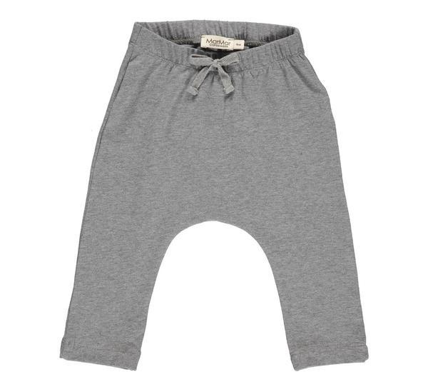 MarMar Pico Baby & Toddler Pants in grey melange