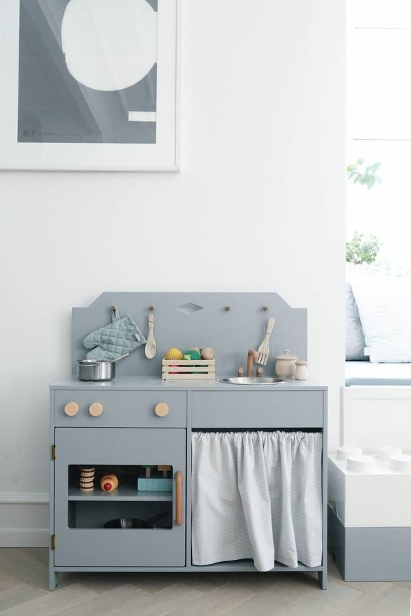 Wooden Children's Play Kitchen Plastic Free | Imaginary Play CamCam Copenhagen