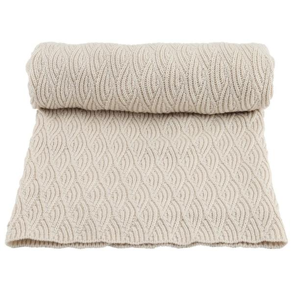 Organic Cotton Baby Blanket Pointelle by Konges Sloejd - BONORDIC