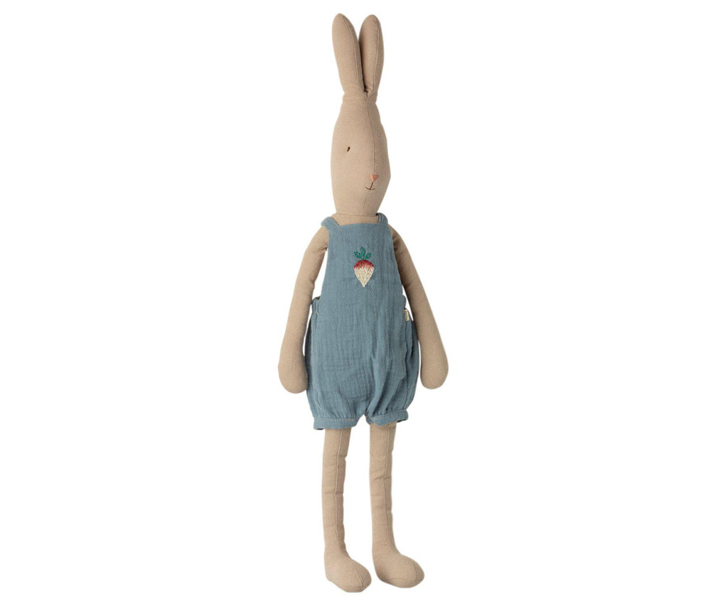 Maileg Rabbit Boy in Overalls Size 3