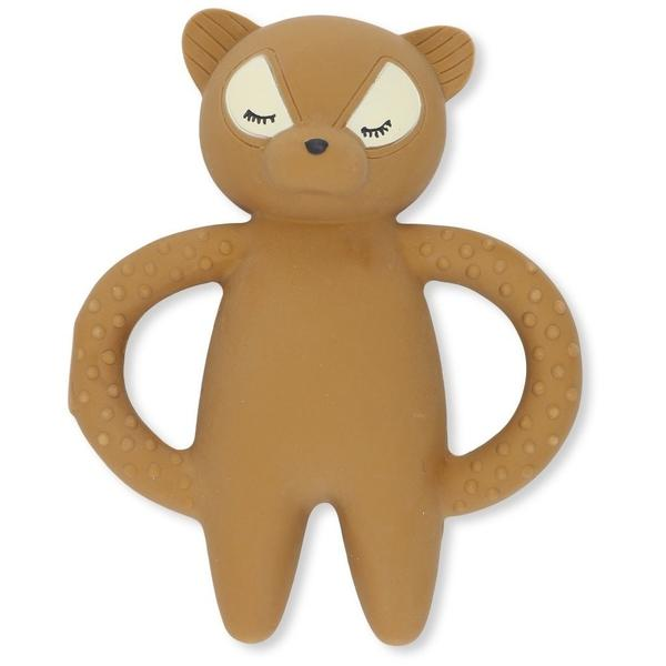 Konges Sloejd Raccoon Teether | Natural Rubber Baby Toy
