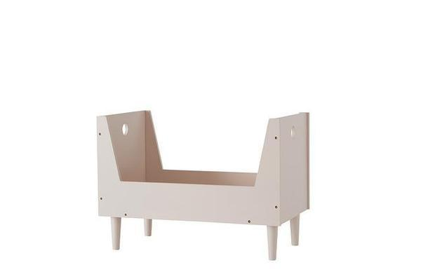 OYOY Living Retro Dolls Bed Rose - BONORDIC