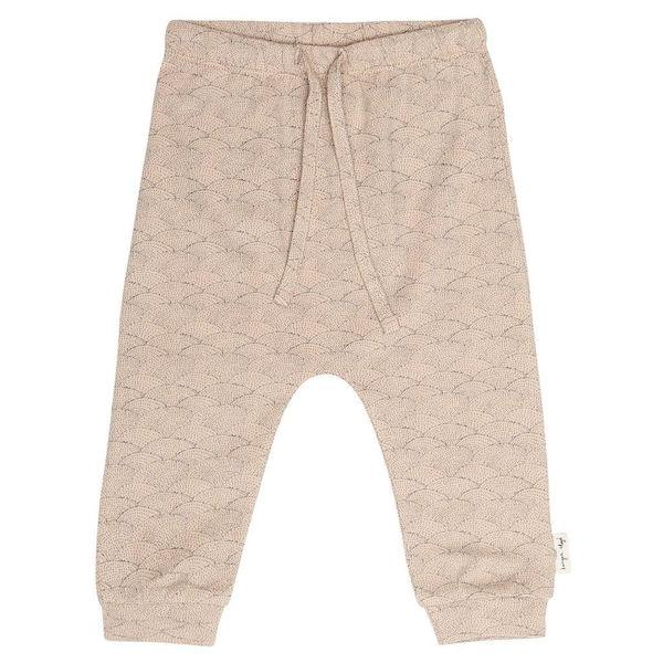 Konges Sloejd Baby Pants In Organic Cotton Rose Sea Shell - BONORDIC