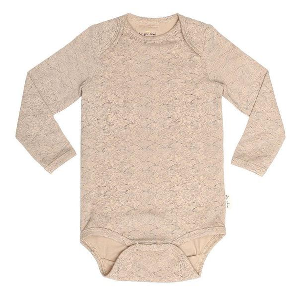 Konges Sloejd Baby Body In Organic Cotton Rose Sea Shell - BONORDIC