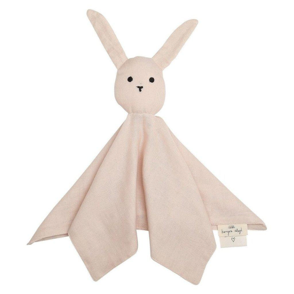Konges Sloejd Sleepy Rabbit Baby Comforter Cloth