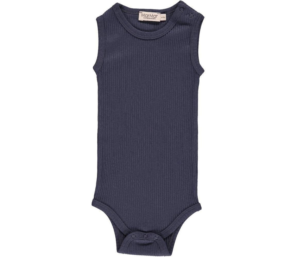 MarMar Copenhagen Sleeveless Baby Bodysuit | New Baby Essentials - BONORDIC