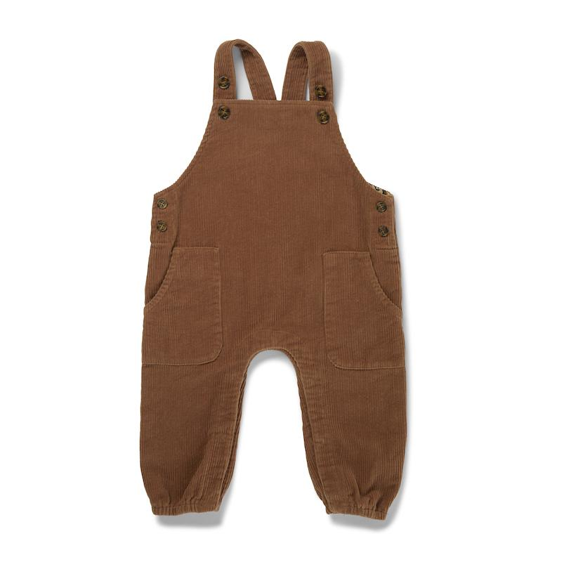 Spencer Corduroy Overalls - Faded Brown-Konges Sloejd-BoNordic