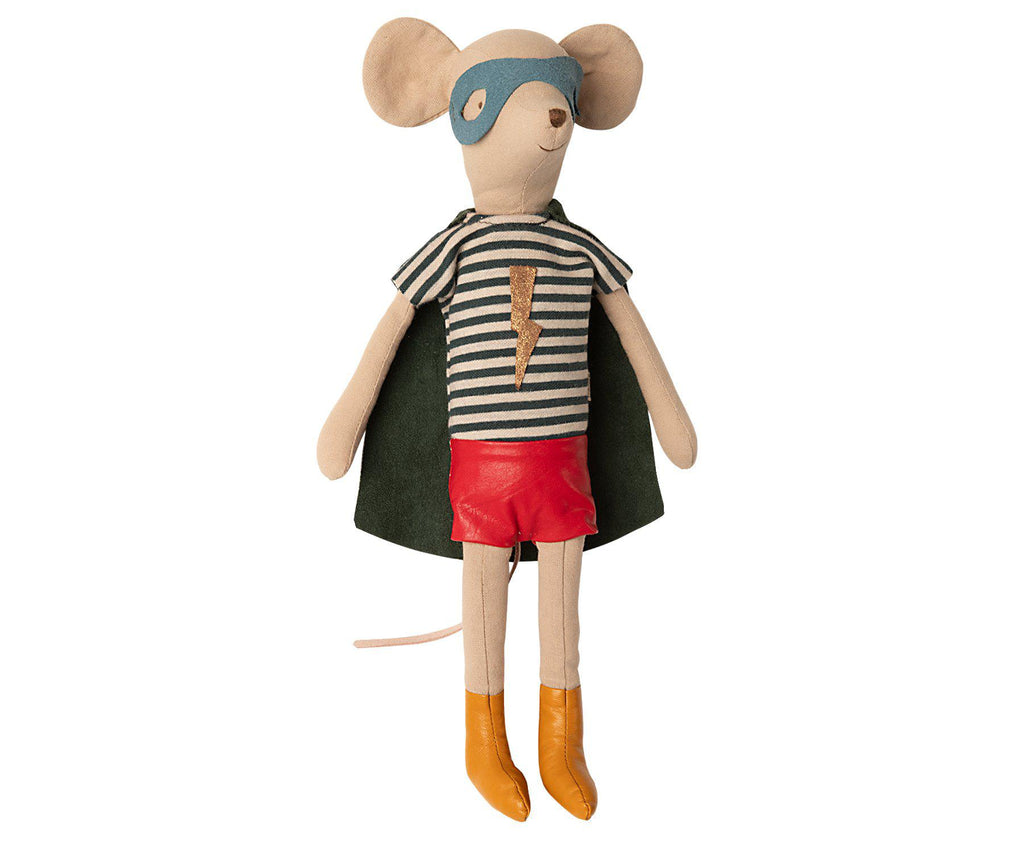 Super Hero Mouse - Medium Boy-Maileg-BoNordic