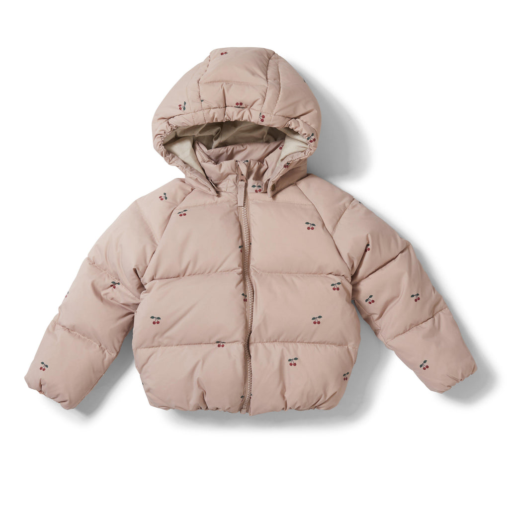 Down Winter Puffa Jacket - Cherry Blush-Konges Sloejd-BoNordic