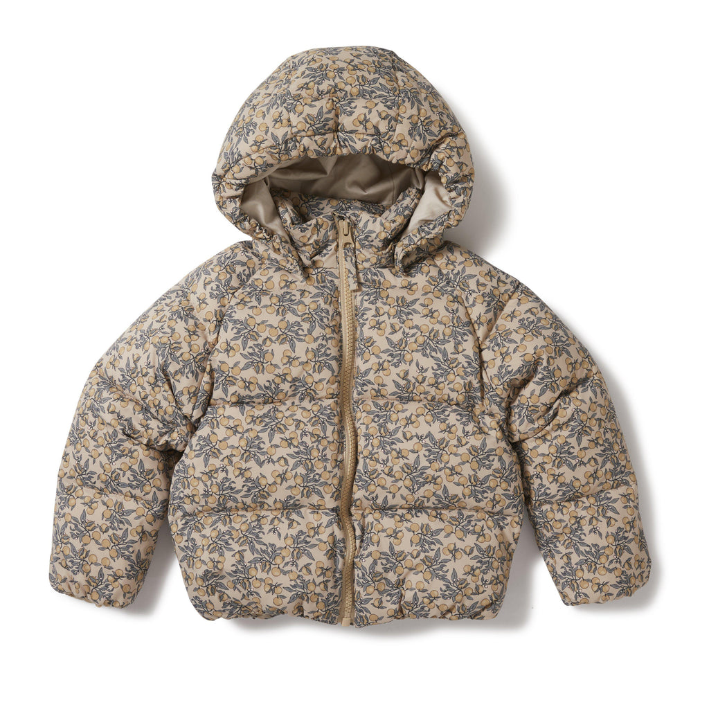 Down Winter Puffa Jacket - Orangery Beige-Konges Sloejd-BoNordic