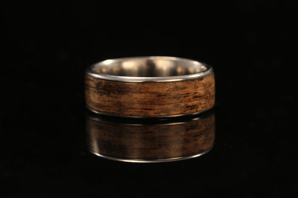 Titanium And Wood Band Jack Daniel S Whiskey Barrel Chasing Victory