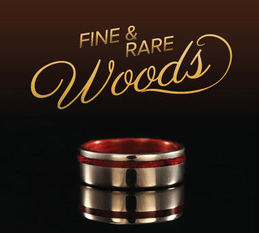 rare wood ring collection
