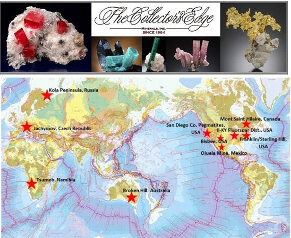Phil's Top Ten Mineral Localities of the World