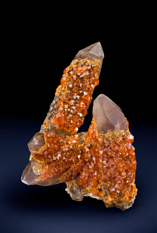 Spessartine, Quartz v. Smoky