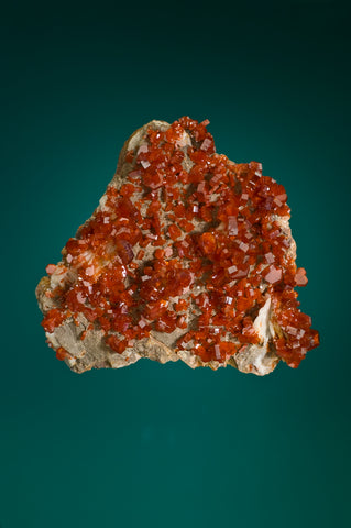 Vanadinite, Barite