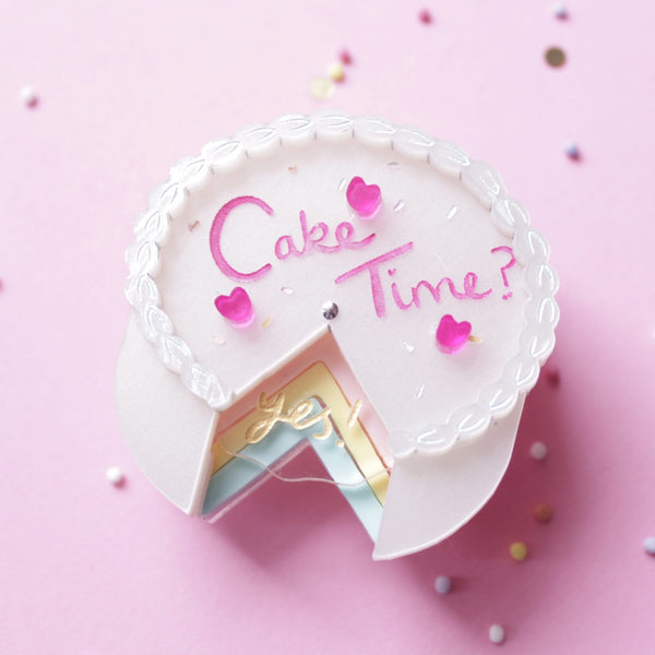 Cake Time Brooch