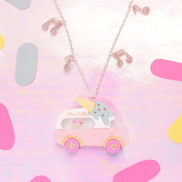 Ice Cream Van Necklace