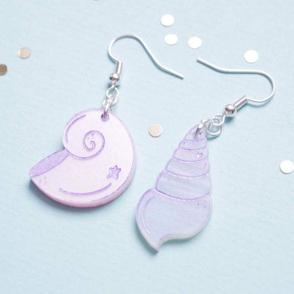 Mermaid Shell Earrings