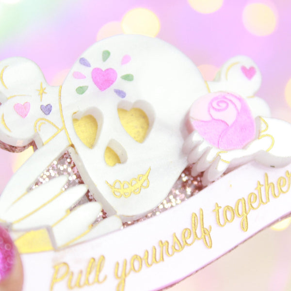 Pull Yourself Together Brooch