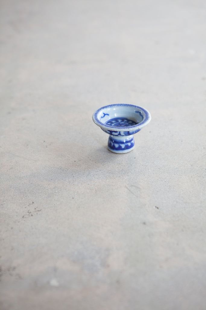 Vintage Chinese altar offering pottery