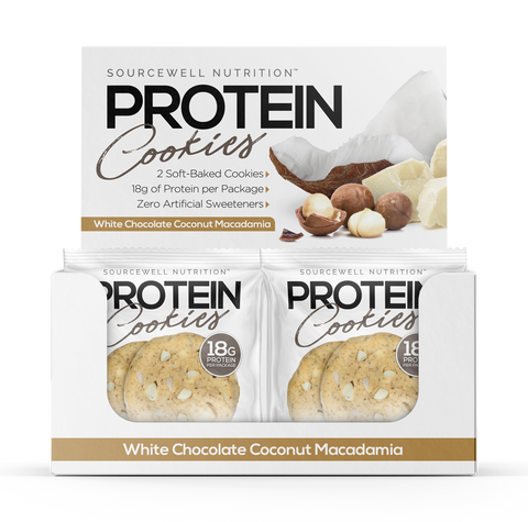 Protein Cookies (White Chocolate Coconut Macadamia)