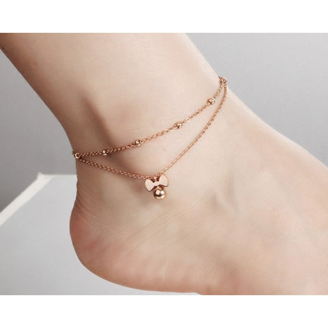 Bow Tie Anklet - GiftsWizards