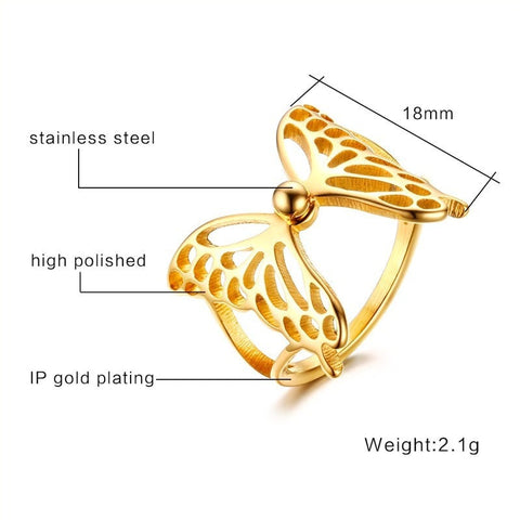 Butterfly Ring - GiftsWizards