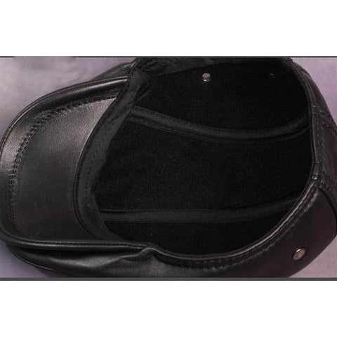 Leather Flat Cap HN-001 - GiftsWizards