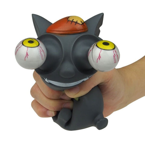 Mad Cat Bulging Eyes Stress Balls - GiftsWizards