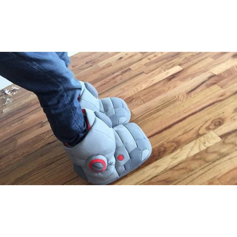 Robot Sound Effect Slippers