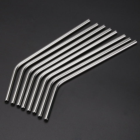 Stainless Steel Drinking Straws - GiftsWizards