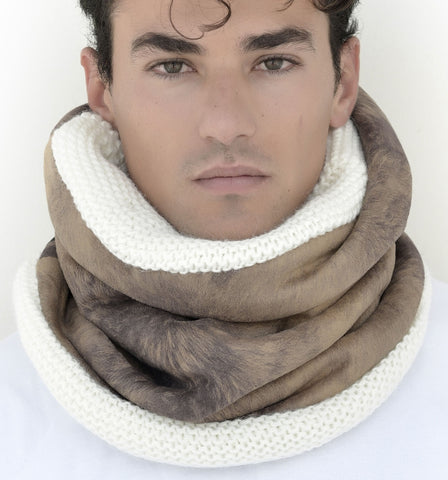 SNOOD WOOL / FUR