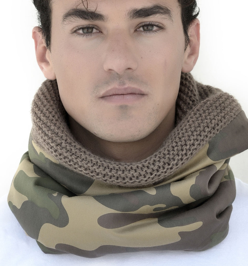 SNOOD WOOL / CAMOUFLAGE