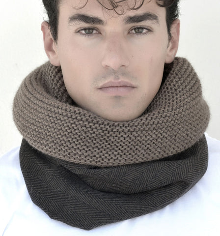 SNOOD WOOL / TWEED