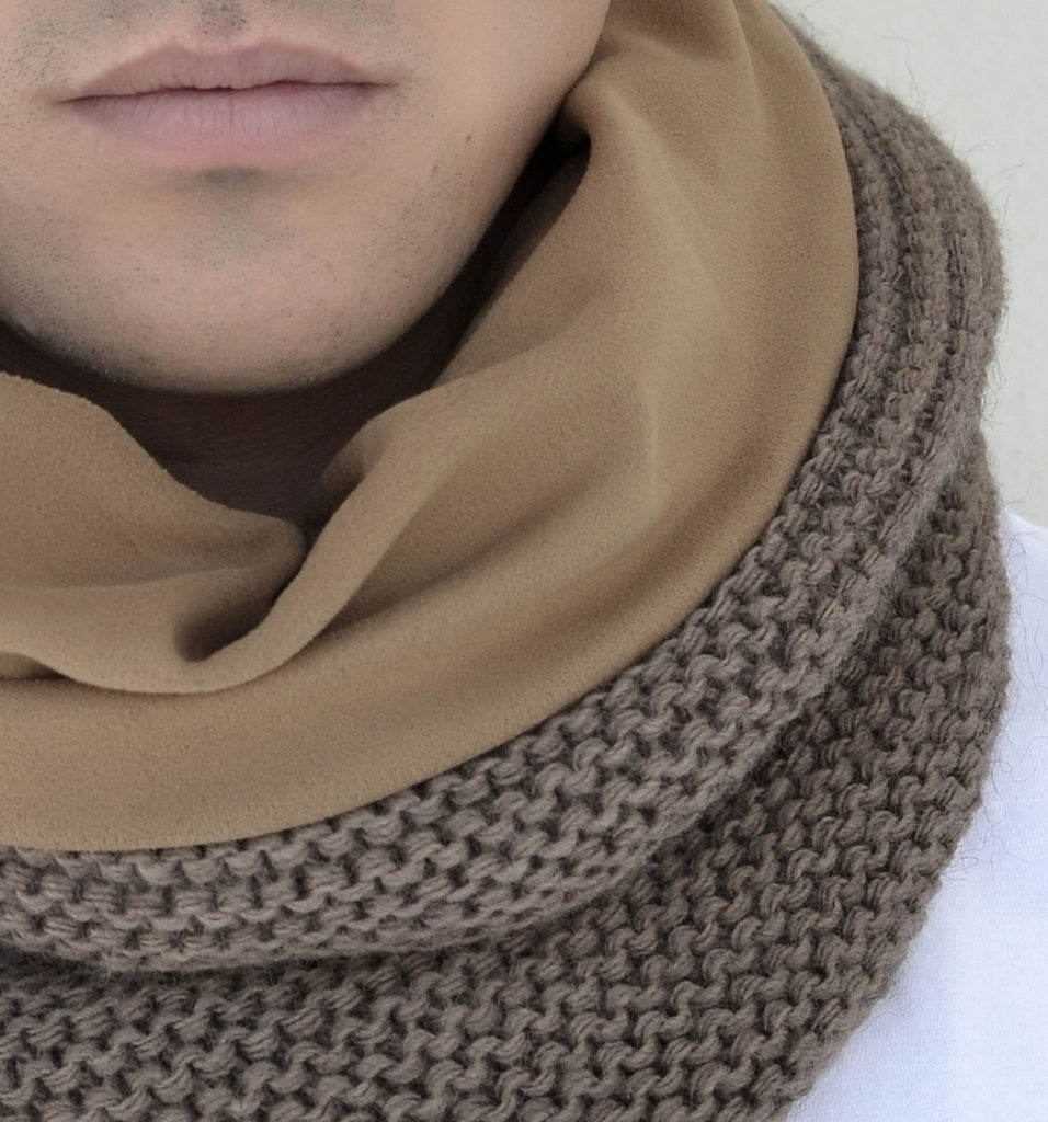 SNOOD WOOL / SUEDE