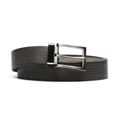 Perforated Leather Belt - The Stylish Man