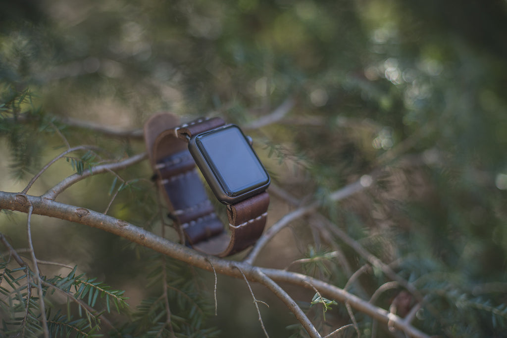 Leather Apple Watch Strap - The Stylish Man