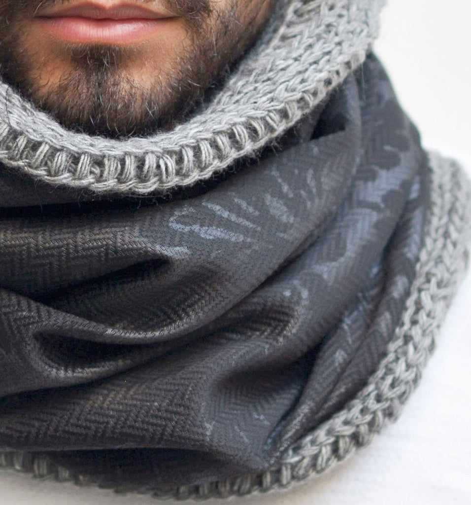 SNOOD WOOL / BROCART