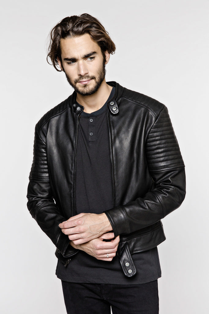 Delikt Clothing JKT:4 The Ribbed Racer - The Stylish Man